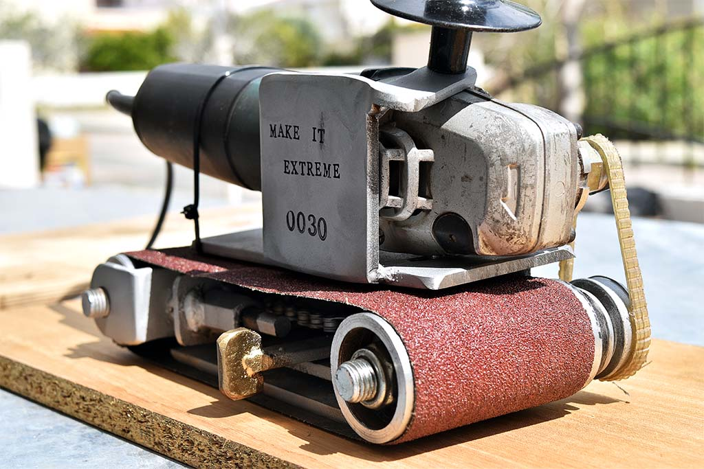 how to use multi sander